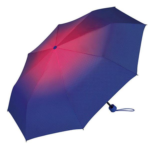 Esprit Dámský skládací deštník Super Mini Sunrise Beetroot