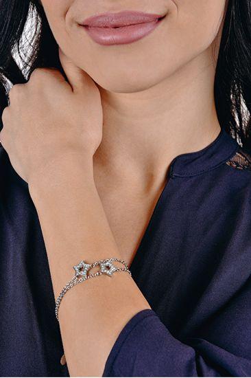 Lotus Style Zvezdniška zapestnica s kristali LS1885-2 / 1