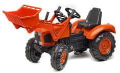 Falk Traktor šlapací Kubota s přední lžící