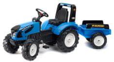 Falk Traktor šlapací Landini Serie 7 s valníkem