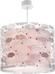 Dalber Dětské závěsné svítidlo Růžové obláčky 41412S