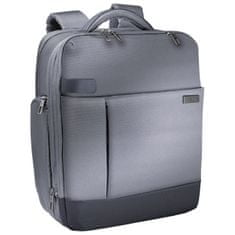 Leitz nahrbtnik Smart Traveler, 39,6 cm, srebrn