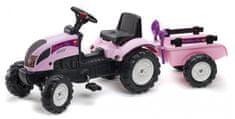 Falk Traktor PRINCESS Trac s přívěsem