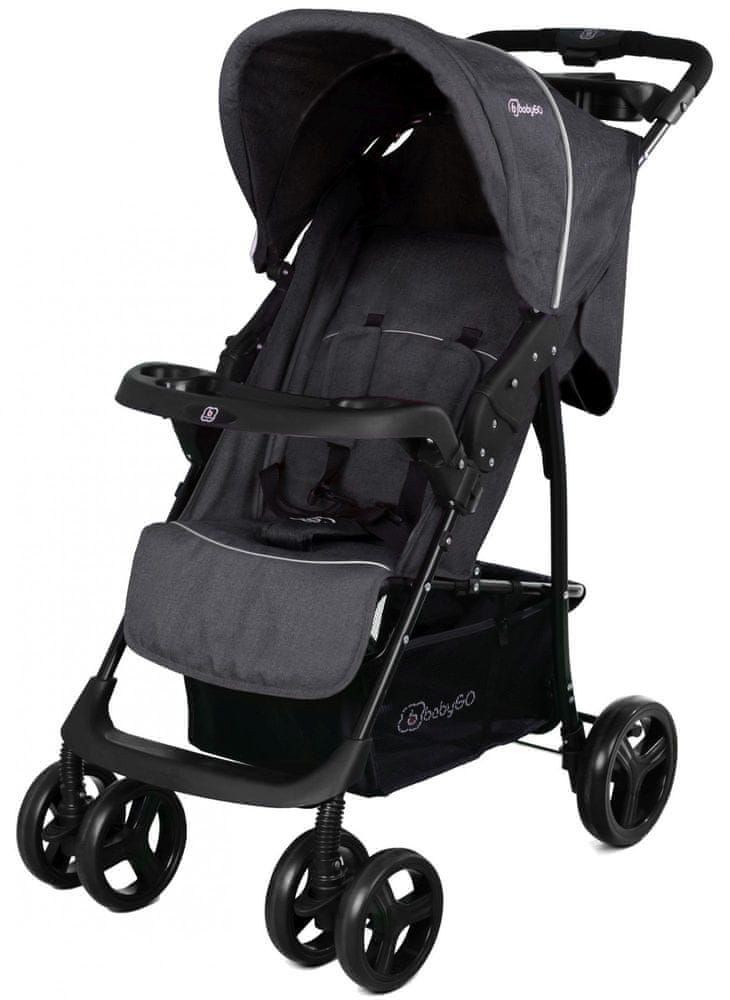 BabyGo Basket 2019 Dark Grey Melange