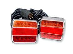 Golm set LED luči, magnet + kabel, 7,5 x 2,5 m, 2 kosa