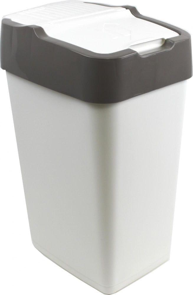 Heidrun Odpadkový koš 60 l šedá