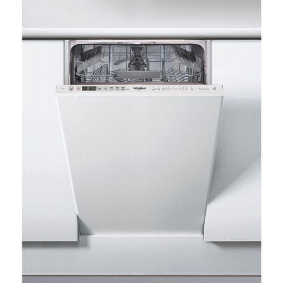 Whirlpool myčka WSIO 3T125 6PE X + 5 let záruka na vypouštěcí čerpadlo motoru