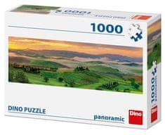 Dino Západ slunce Panoramic 1000 dílků