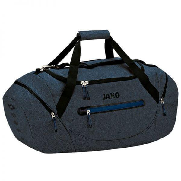 JAKO CHAMP sportovní taška vel. 02, modrá/tmavě modrá