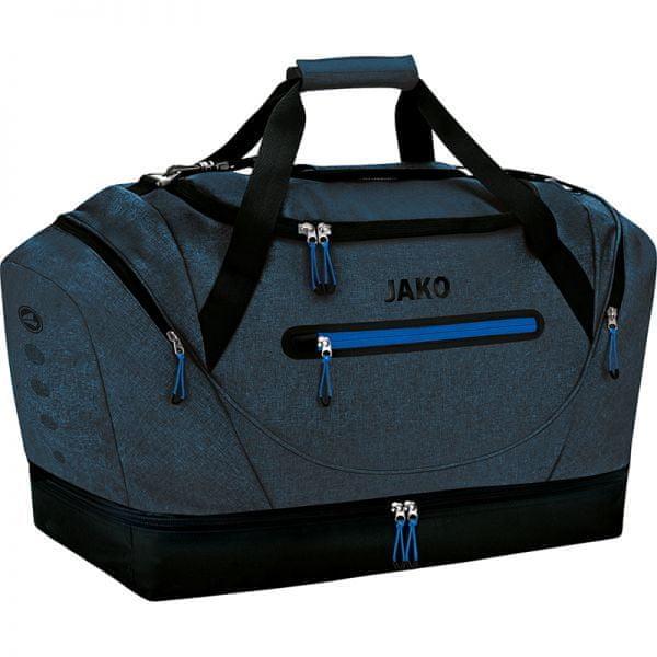JAKO CHAMP sportovní taška se dnem vel. 03, modrá/tmavě modrá