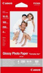 Canon Foto papier GP-501, 10x15 cm, 100 ks, 210g / m2, lesklý (0775B003)