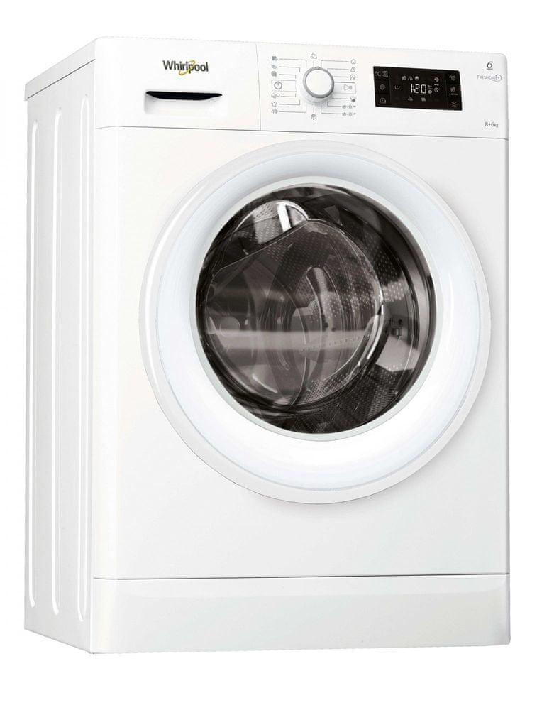 Whirlpool pračka se sušičkou FWDG86148W EU