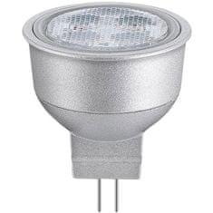 Goobay LED sijalka GU4, Reflector, 2 W, topla bela, srebrna