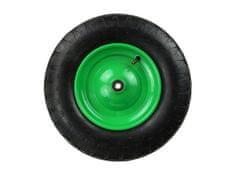 GEKO Gumové kolo do vozíku, 390x85 mm, průměr středu 220 mm
