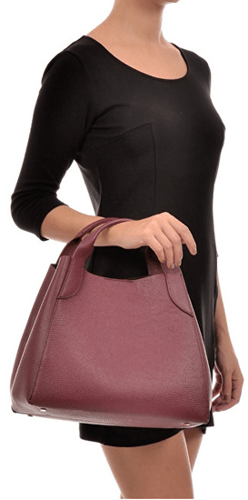 Sofia Cardoni Ženska usnjena torbica AW20SC1299 Vino