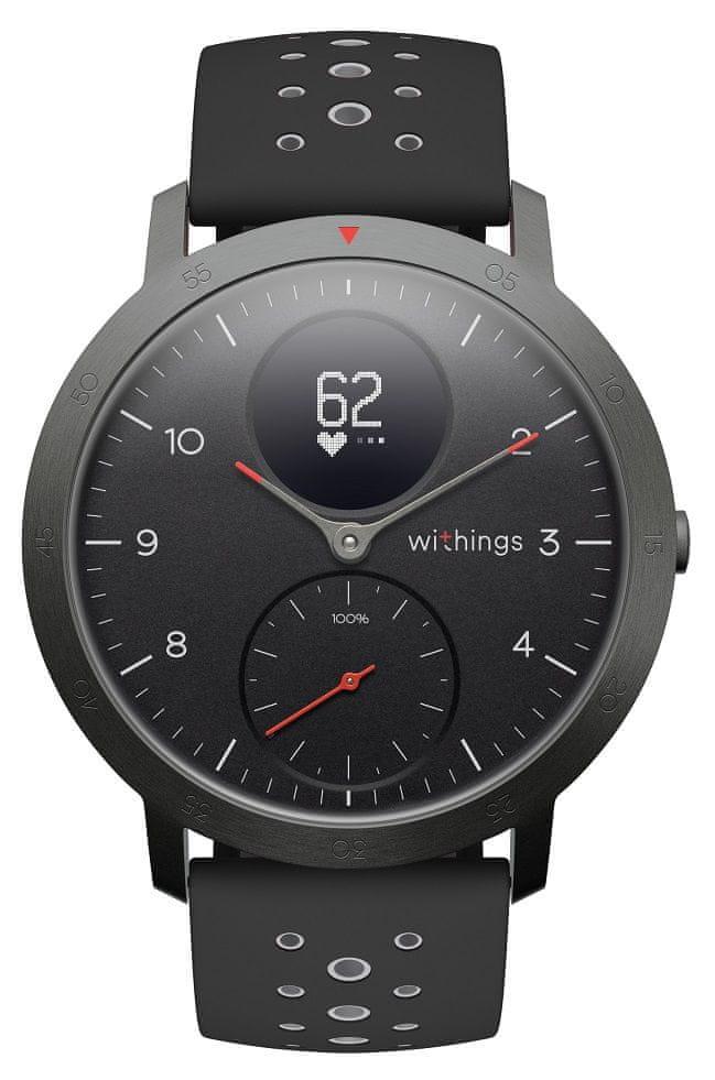 Withings Steel HR Sport (40 mm), Black