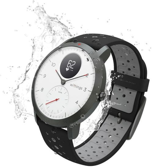 Withings smartwatch Steel HR Sport (40 mm), White
