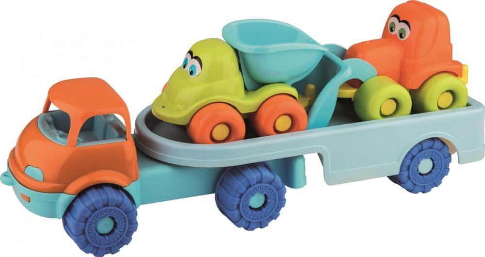 Androni Přepravník autíček s náklaďáky