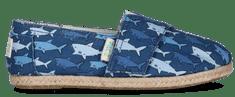 PAEZ chlapčenské espadrilky Print Sharks 32 modré