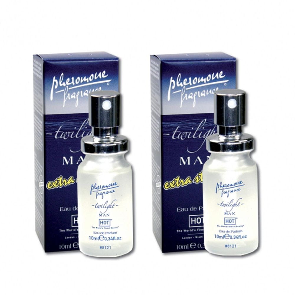 Hot Feromony - Eau de Parfum Twilight Extra Strong Man (2x10ml)