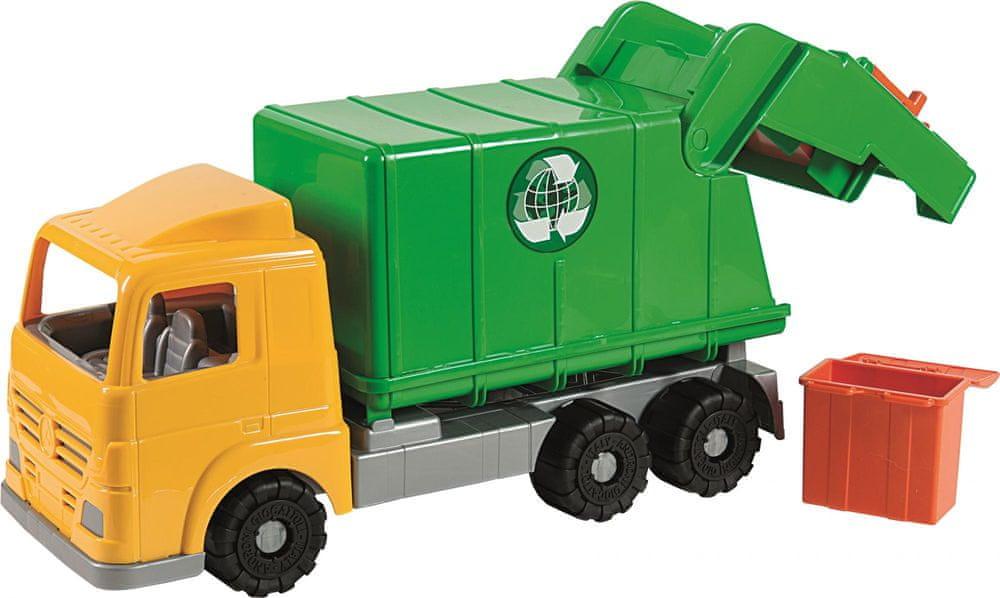 Androni Popelářský vůz Millennium zelený