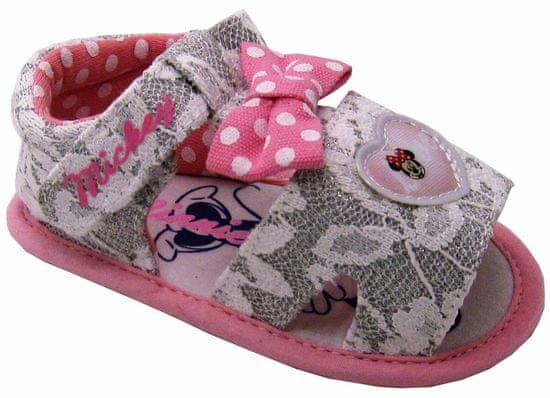 Disney by Arnetta dievčenské sandále Minnie
