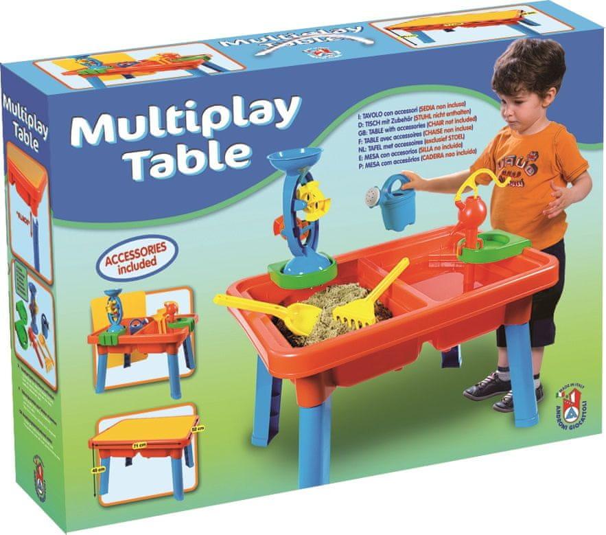 Androni Multifunkční stůl s doplňky