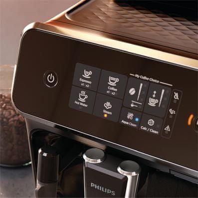 Kávovar Philips Series 2200 EP2220/10 Dotykový displej