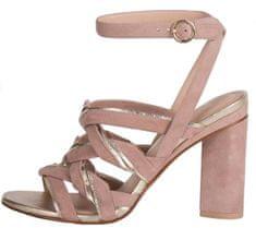 What For dámské sandály 39 světle růžová
