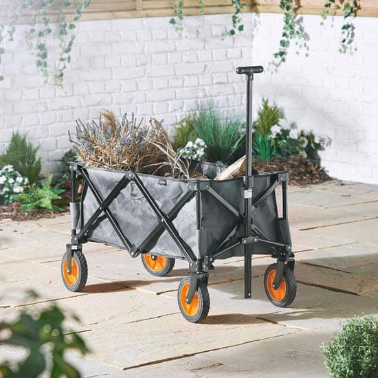 VonHaus zložljiv voziček za kampiranje (2500308)
