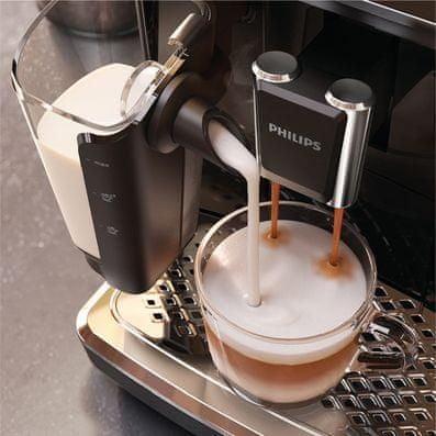 Kávovar Philips Series 2200 LatteGo EP2230/10 napěňovač mléka