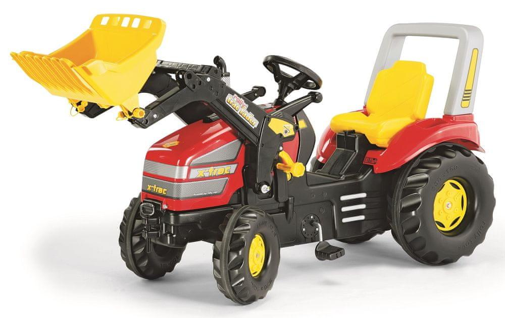 Rolly Toys Šlapací traktor X-Track s nakladačem