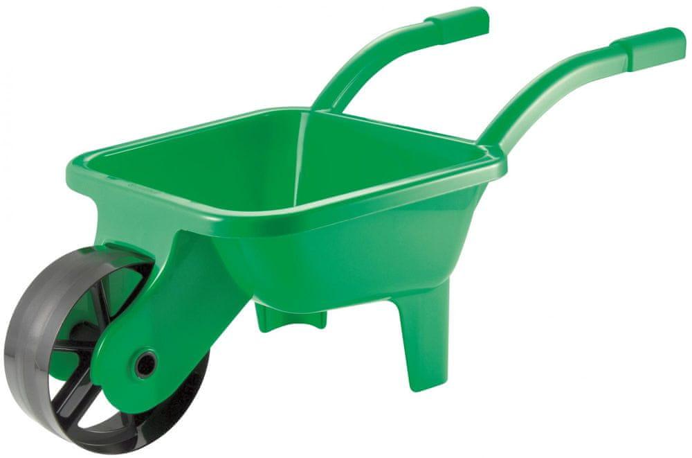 Ecoiffier Zahradní kolečko plastové zelené