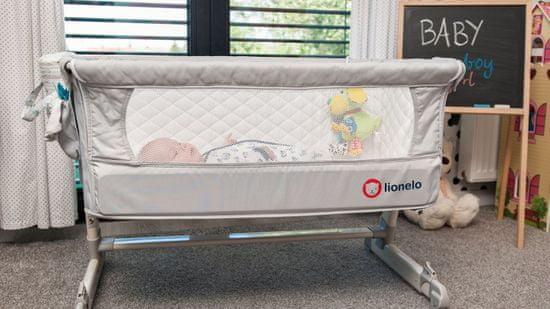 Lionelo łóżeczko podróżne THEO