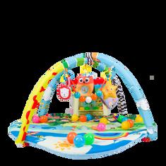 Lionelo Hrací deka IMKE s balónky a domečkem