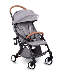 Lionelo wózek sportowy JULIE Black/Grey