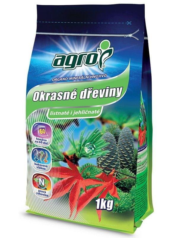 AGRO CS Organominerální hnojivo okrasné dřeviny 1 kg