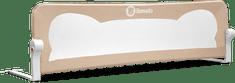 Lionelo Védőkorlát az ágyra EVA Grey