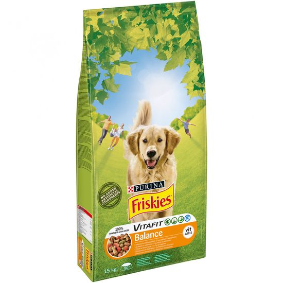 Friskies sucha karma dla psa Adult balance - 15 kg
