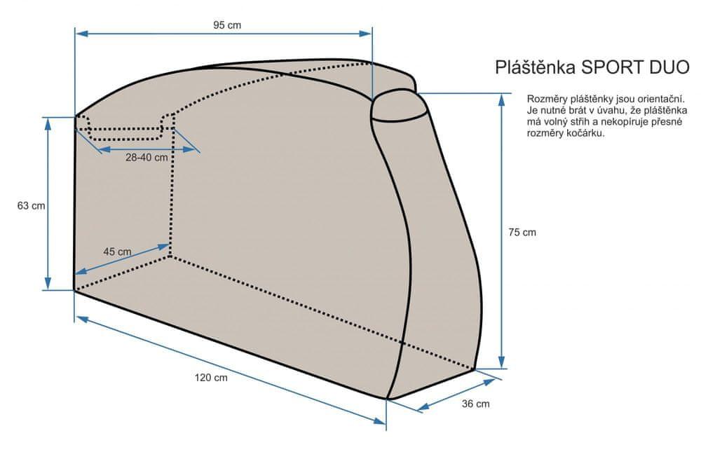 Emitex Pláštěnka SPORT DUO