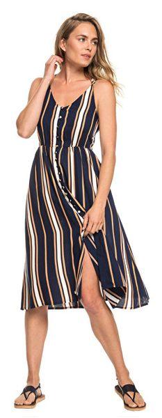 3a81387f8 Roxy Dámské šaty Sunset Beauty Dress Blue Macy Stripe ERJWD03313-BTK4  (Velikost L)