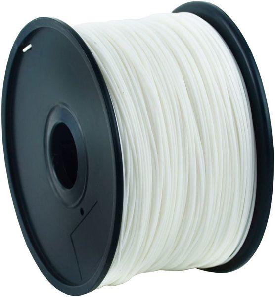 Gembird tisková struna (filament), PLA, 1,75mm, 1kg, bílá (3DP-PLA1.75-01-W)