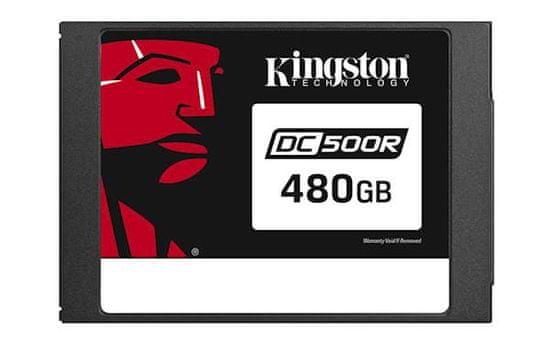 """Kingston SSD 480GB DC500R, 2,5"""", SATA3.0, 555/500 MB/s, za podatkovne centre"""
