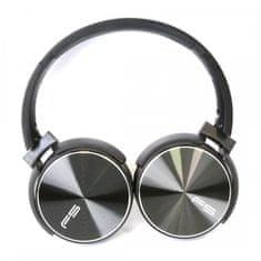 Platinet Freestyle naglavne Bluetooth slušalke FH0917 + mikrofon, zložljive, črne