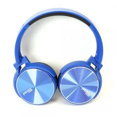 Platinet Freestyle naglavne Bluetooth slušalke FH0917 + mikrofon, zložljive, modre