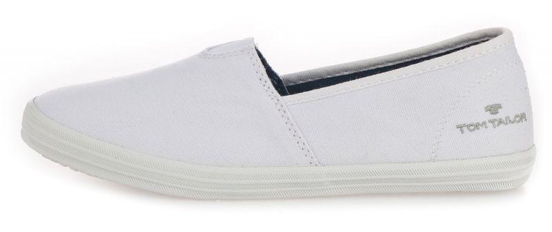 3cfa38612 Tom Tailor dámské slip-on tenisky 37 bílá