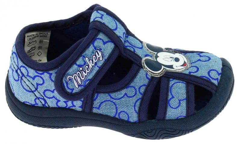 7b8390ced034 Disney by Arnetta chlapecké sandále Mickey Mouse 26 modrá
