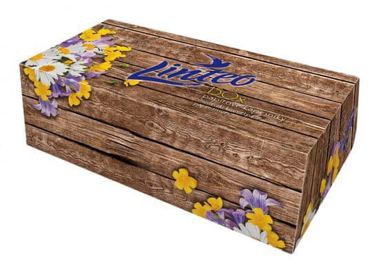 LINTEO Papírové kapesníky v krabičce 5 x 150 ks