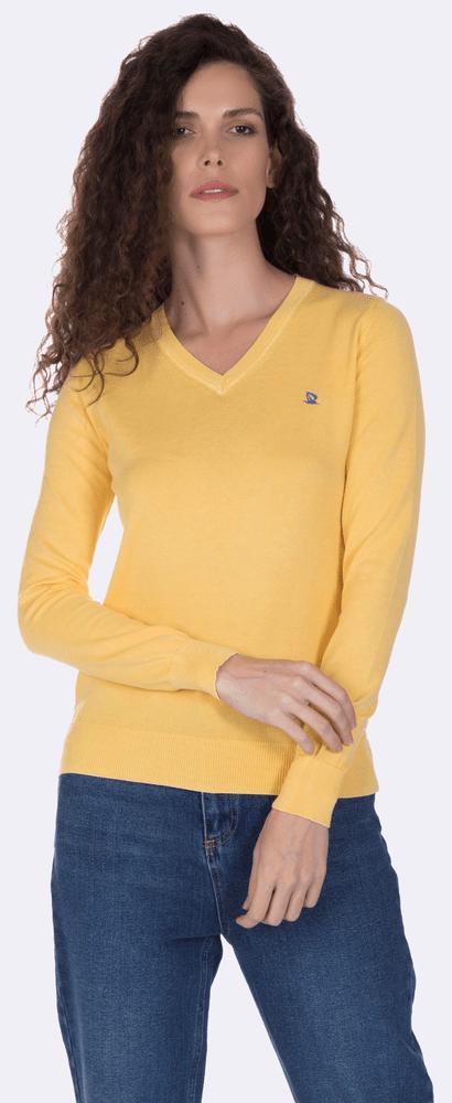 Giorgio Di Mare dámský svetr L žlutá