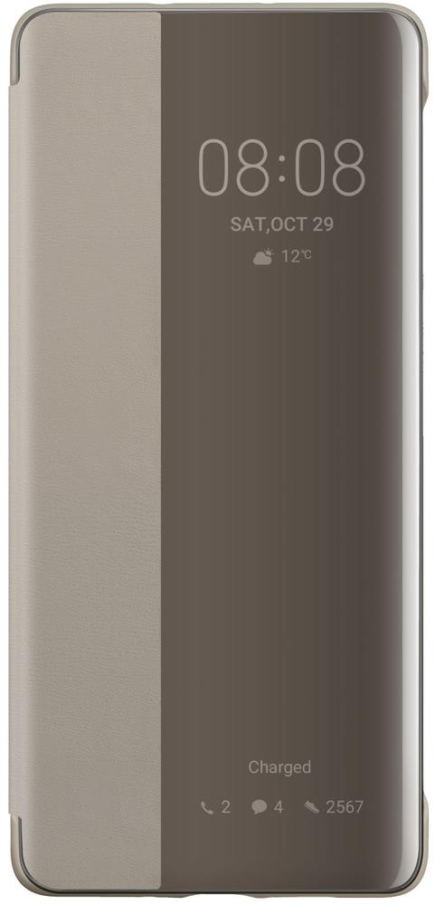 Huawei Smart View Flipové pouzdro P30 Pro Khaki 51992886